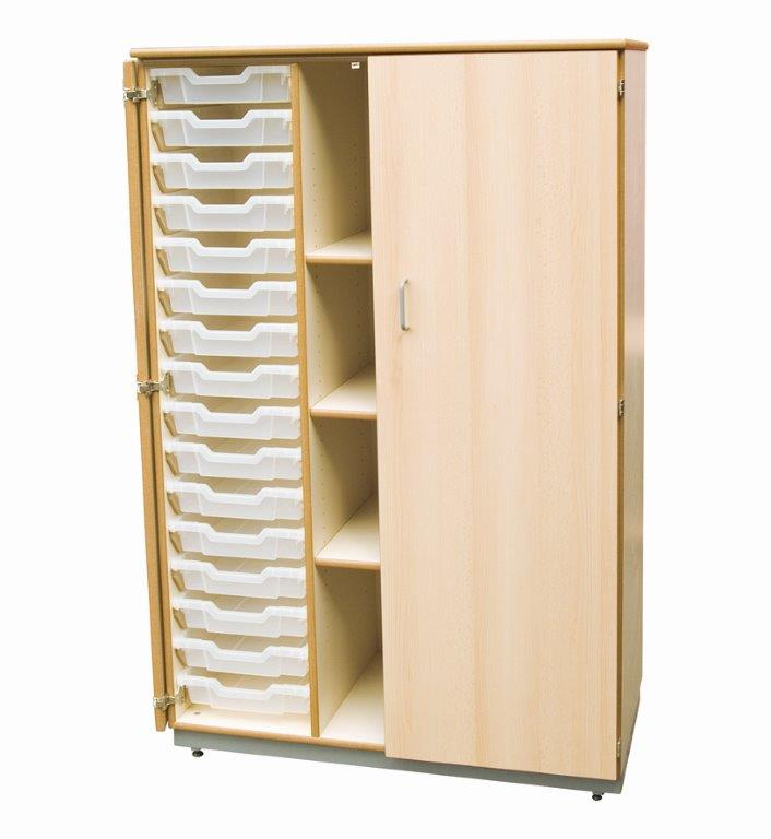 Cupboard with Tray Storage-0