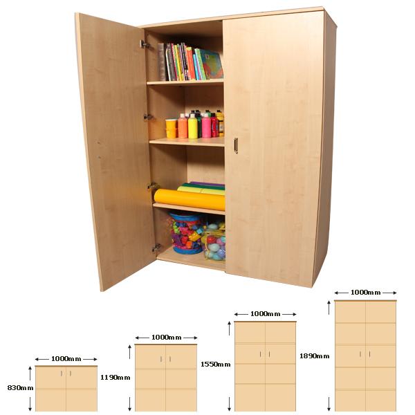 Cupboard-Double Door W1000mm x H1890mm-0