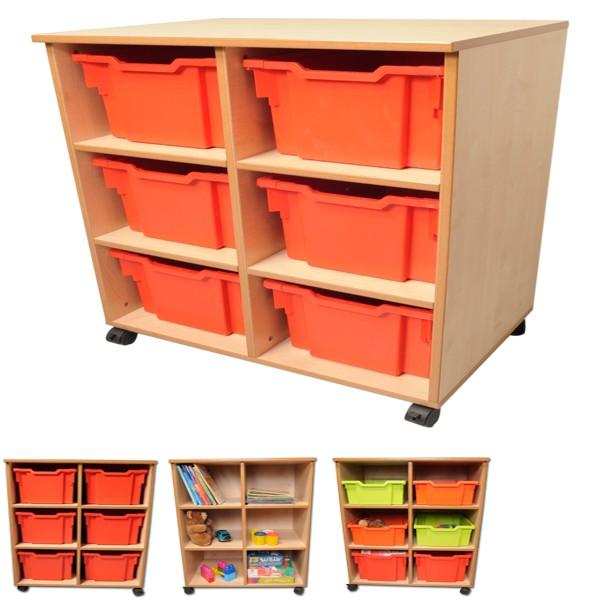Cubby Storage Unit - 6 Bay-0