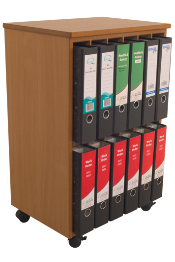 Lever Arch File Storage Unit-3189