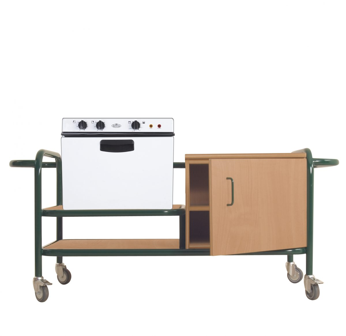 Cookery Trolley with Baby Belling Oven-0