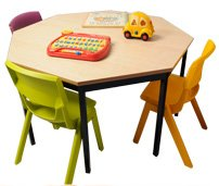 Large Octagonal Table-3427