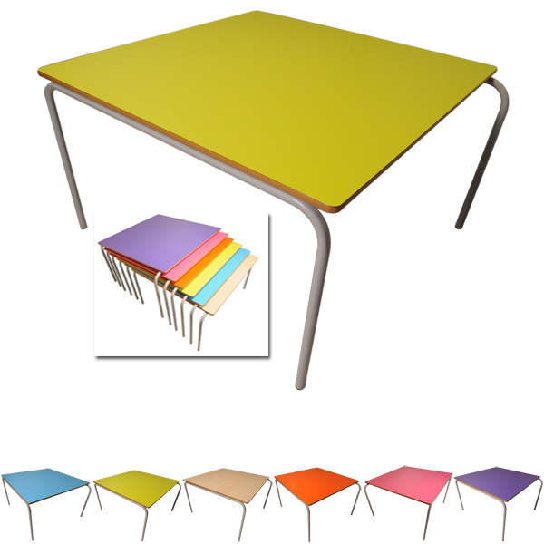 Small Square Stacking Table-0