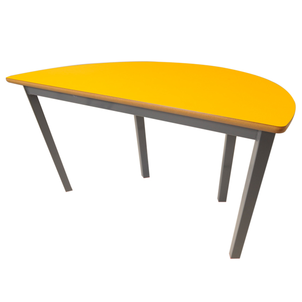 Small Semi-Circular Table-0