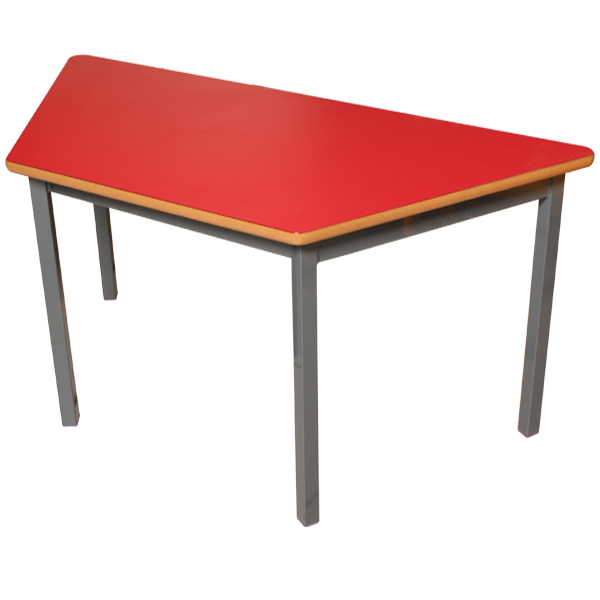 Small Trapezoid Shaped Table-0